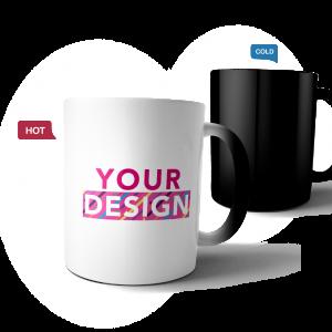 custom design magic mug