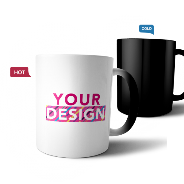 custom design magic mug