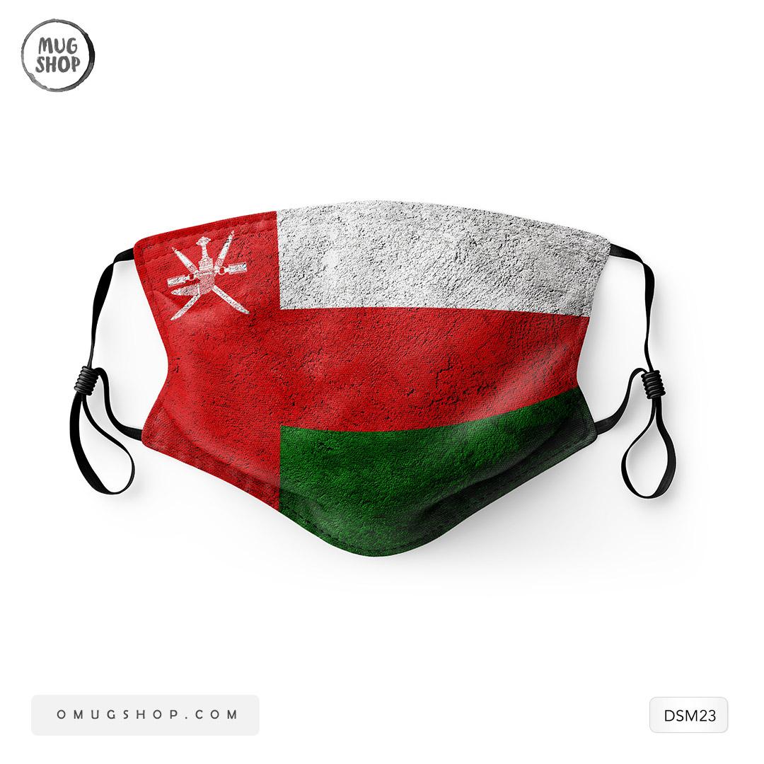 كمامات علم عمان